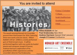 Monash Art Ensemble - Histories