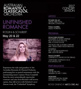 ARCO Unfinished Romance Flyer